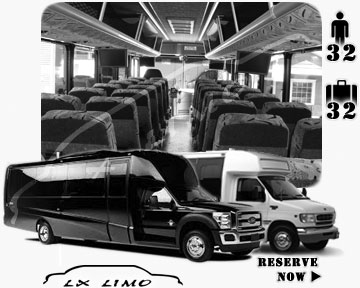 Bus rental 32 passenger