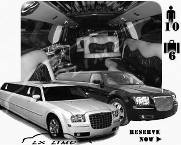 Chrysler 300 Limo in Providence for wedding