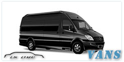 Luxury Van service in Providence, RI