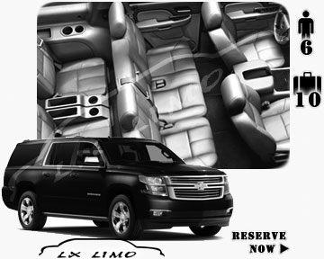 SUV Suburban for hire in Providence