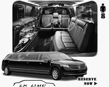Stretch Limo for hire in Providence